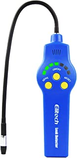 Elitech HLD-200 Refrigerant Leak Detector Halogen Leak Detector Freon Checker CFCs HCFCs HFCs with Replaceable Sensor