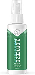 Biofreeze Pain Relieving Spray, 118 ml, Cooling Topical