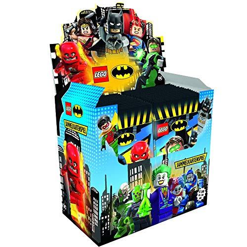 Top Media- Juego de 50 Cartas coleccionables de Batman, Color carbn (180484D)