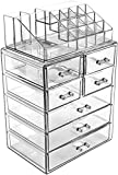 Sorbus Cosmetic Makeup and Jewelry Storage Case Display - Spacious Design - Great for Bath...