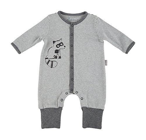 Sigikid Unisex Baby Overall, New Born Strampler, Grau (Grey Melange Abk 83 85), 68