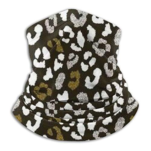 Máscara de piel de animal abstracta, diseño de leopardo Ma-Sk unisex de microfibra, calentador de cuello, cuello Ma-Sk, bufanda para la cara, pasamontañas Bandana guardia de seguridad