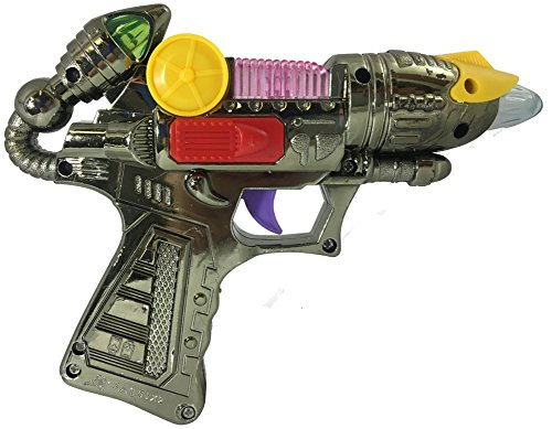 Product Image of the Rhode Island Novelty 7 Inch Light Blaster Gun, 6 Pieces per Order