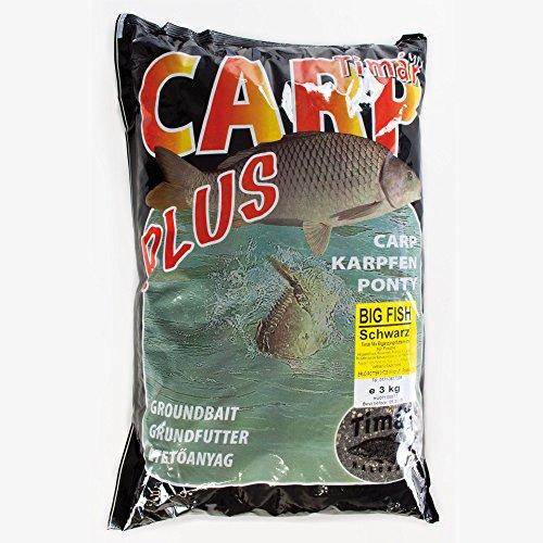 Timar Mix Futter Plus Serie Big Fish Flie/ßwasser 3kg Futter Angelfutter Grundfutter Anfutter