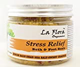 La Flora Organics Stress Relief Detox Bath and Foot Soak, 300 g