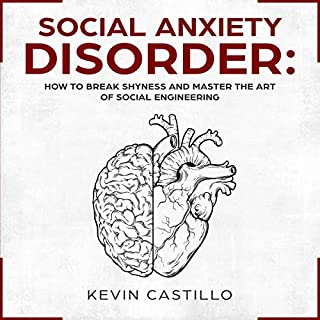 Social Anxiety Disorder audiobook cover art