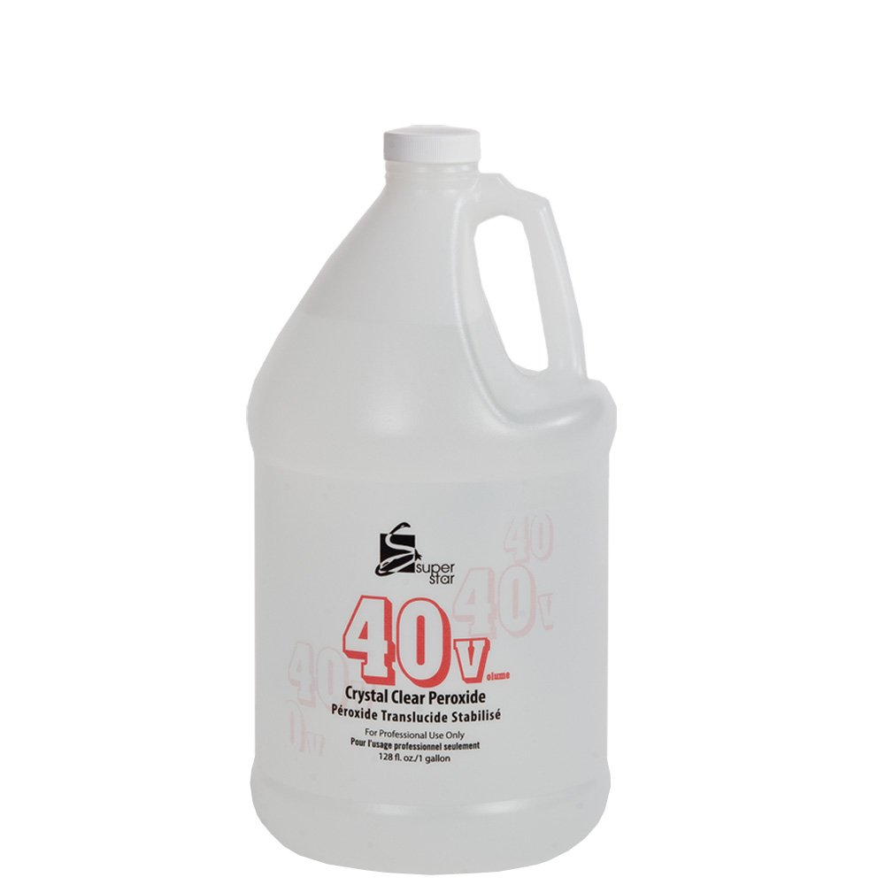 SUPER STAR 40v Stabilized Crystal Clear Liquid Peroxide 3.8 L / 1 Gallon (1-Count)