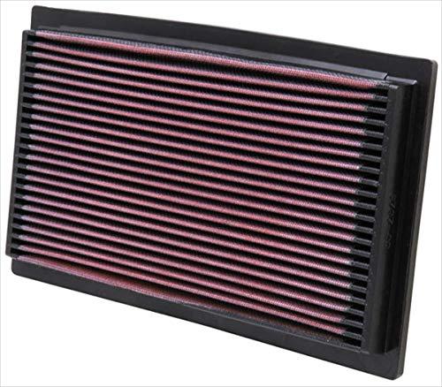 K&N 33-2029 Filtre à Air du Moteur: Haute Performance, Premium, Lavable, Filtre de Remplacement, Plus de Pouvoir, 1983-2010 (Cabriolet, 200, A6, 80, Coupe, S4, , Passat, Golf, Jetta, Golf)