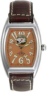 Zeno - Watch Reloj Mujer - Tonneau Retro Open Heart - 8085U-h6
