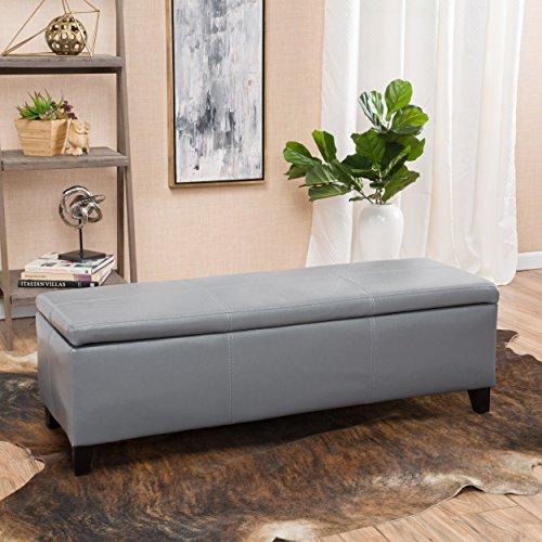 Christopher-Knight-Home-296845-Living-Skyler-Grey-Leather-Storage-Ottoman-Bench