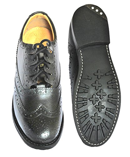 Ghillie brogues homme cuir Thistle