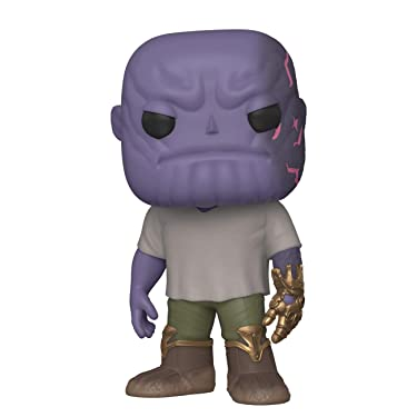 Funko Pop! Marvel: Avengers Endgame - Casual Thanos with Gauntlet (45141)