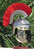 NauticalMart Roman Gallic 'G' Centurion Helmet -One Size - Metallic Armour