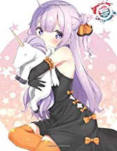 Princess Unicorn Coloring Book: Cute Anime Manga Girl Coloring Book with Magical Fantasy Animals, Cute Princesses Kawaii Anime Style, Female Japanese ... and Fun - Vol3 (Inkway Anime Coloring Zone)