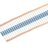 uxcell 金属膜抵抗器 レジスター 100Ω 2W 許容差1% 5カラーバンド 全長72mm 30枚入り