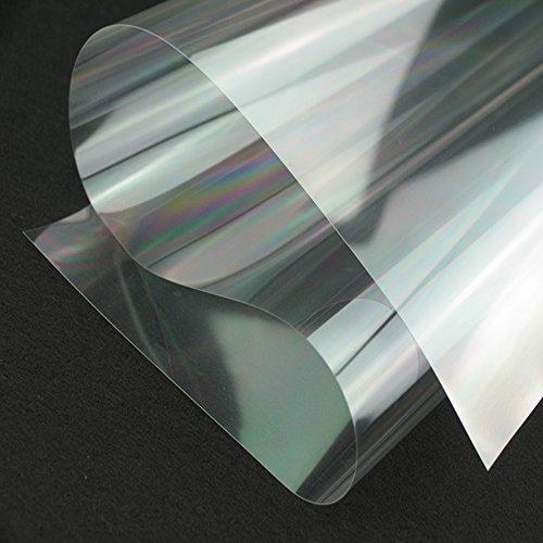 Yazi – Vinilo transparente, adhesivo, reacondicionado para ventana, recubrimiento de mesas, cocinas y armario, plástico, transparente, 60x250cm/23.6x 98.4inch 2mil(1mil=0.001 inch)