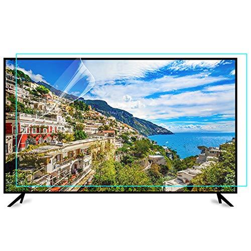 ZWYSL Blendfreier Anti-Kratzer-TV-Displayschutz, Anti-Blaulicht-Schutzfolie für LCD, LED, 4K-OLED- und QLED-HDTV für 27-75-Zoll-Monitor (Color : HD Version, Size : 55 inch 1213x686mm)