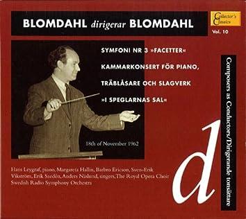 Blomdahl dirigerar Blomdahl
