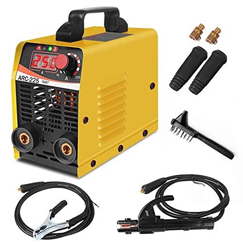 ARC-225 - Mini máquina de soldadura eléctrica estándar americano 110 V estándar...
