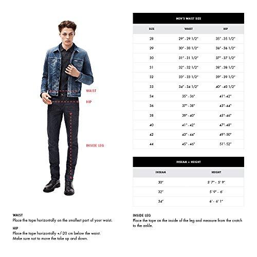 Calvin Klein Jeans Men's,Slim Straight Fit Denim Jean,Silver Bullet,32W 32L