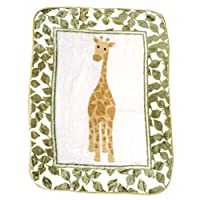 Luvable Friends Character High Pile Blanket, Giraffe by Luvable Friends