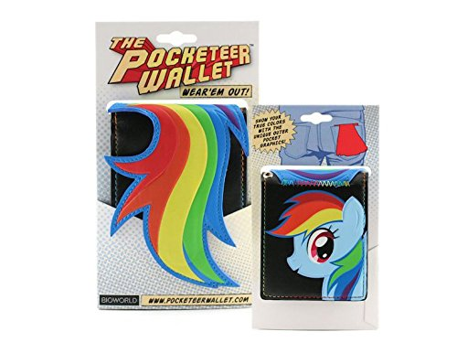 Bioworld My Little Pony Rainbow Dash The Pocketeer Wallet