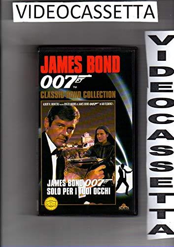 007 - SOLO PER I TUOI OCCHI - ROGER MOORE - VHS