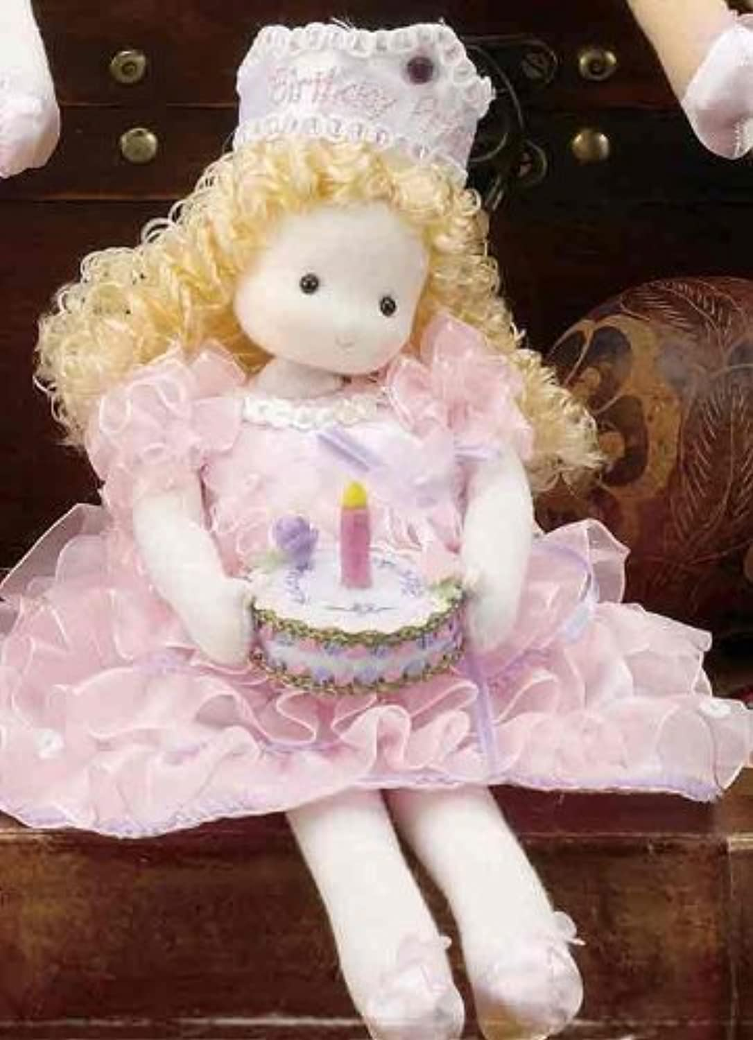 Birthday Princess Blonde Musical Doll