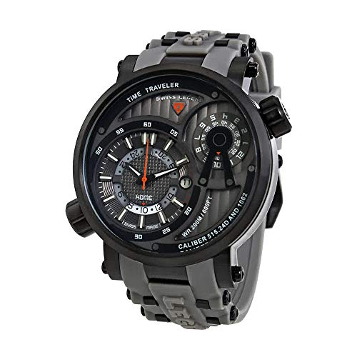 Swiss Legend Time Traveler Herren-Armbanduhr SL-13841SM-BB-014-GRYS