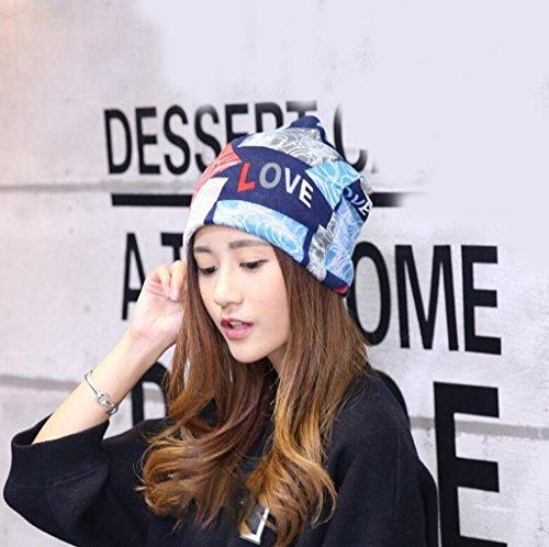 Longless Cashmere hooded hat outdoor femme - écharpe multi fonctionnels capot