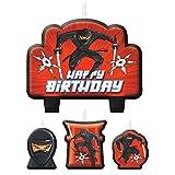 Ninja Birthday Candle Set