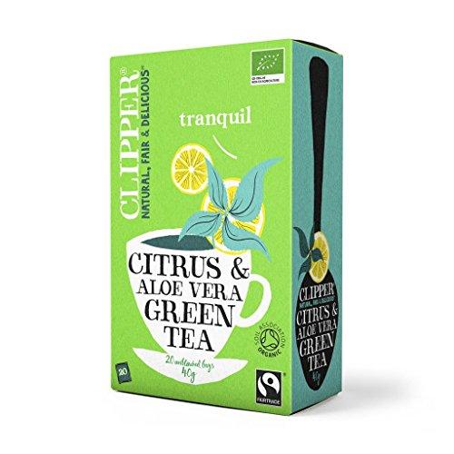 Clipper Organic Green Tea Aloe Vera 20 bolsas