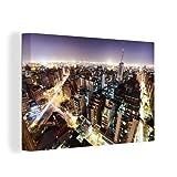 Leinwandbild - Skyline von Cordoba in Spanien - 30x20 cm
