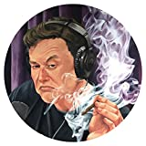 Elon Musk Smoking Joe Rogan Show Podcast Sticker Phone Case Bumper Decal