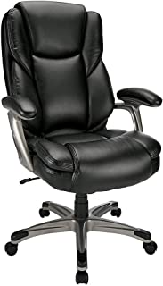 Best realspace cressfield high back bonded leather chair Reviews