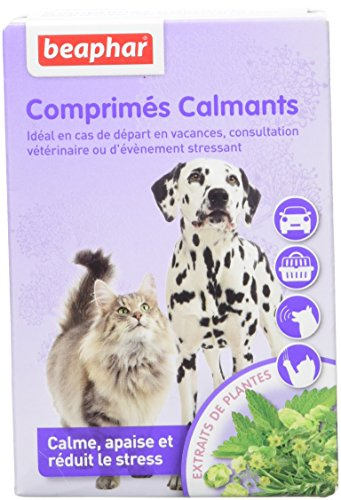 Beaphar Calming Tablets for Dogs and Cats 20 Tablets