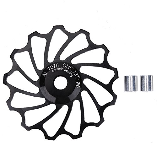Aigend Bicycle Jockey Wheel - 13T Road Bike Jockey Wheel Bicicleta Cojinete...