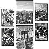 Reframed® Premium New-York-Poster-Set - passend für