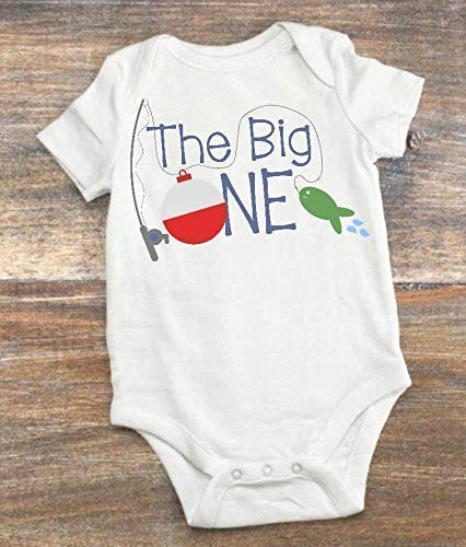 First Birthday Outfit - 12 to 18 Month - The Big One - Fishing Theme
