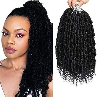 Bomb Twist hair Spring Twist Crochet Hair 6packs Passion Twist Crochet Hair Prelooped..
