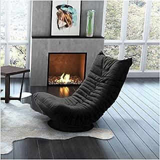 Ozzie Swivel Chair (Black)