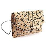 Tikea Geometrischer Messenger Bag Fashion Handtasche Kette Crossbody Schultertasche Umweltfreundlich...