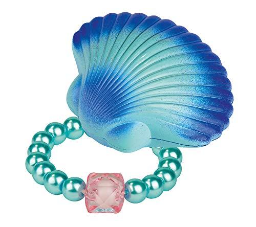Moses 30592 Concha mágica de sirena | con pulsera de perlas de cristal | para niños rosa