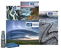 LEE Filters LEE100 82mm ランドスケープスターターキット 2 - LEE Filters LEE100 フィルターホルダー LEE 100mm ソフトエッジ グラデーション NDフィルターセット LEE 100mm リトルストッパー 77mm 広角アダプターリング