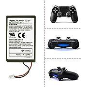 iprotect Sony PlayStation 4 PS 4 Ersatz Akku Batterie für Dualshock Wireless Controller und USB Ladekabel