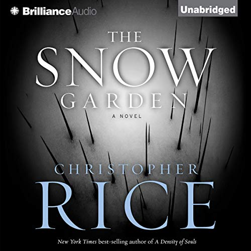 The Snow Garden audiobook cover art