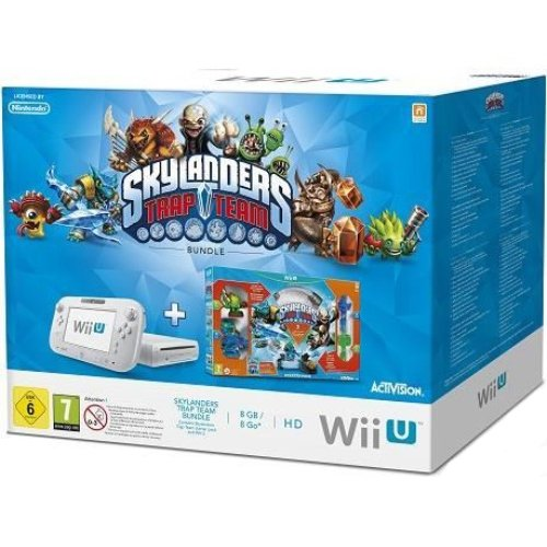 Console Nintendo Wii U 8 Go blanche + Skylanders : Trap Team