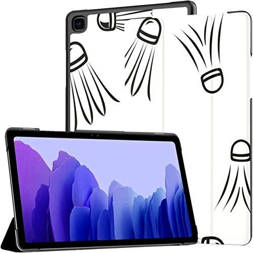 Raqueta de bádminton y Raqueta de Tenis Funda para Galaxy Tab A para Galaxy Tab A7 Funda para Tableta Samsung Galaxy de 10,4 Pulgadas Funda para tabletas Samsung con activación/r
