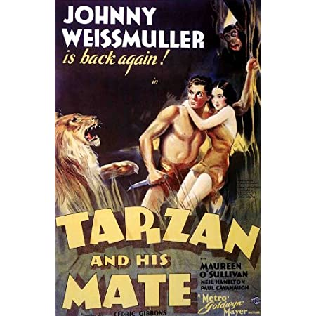 Details about  /Tarzan and His Mate FRIDGE MAGNET movie poster