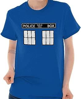 Police Box Doctor Cybermen Time Travel T Shirt Tee